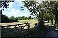 WV6951 : Field from Rue du Bouillon by DS Pugh